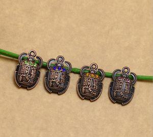 100 adet 16 * 26mm Rhinestone Mısır Scarab Böceği Ile Charm, Beetle Charm Kolye Kolye Bilezik Takı Için making-151