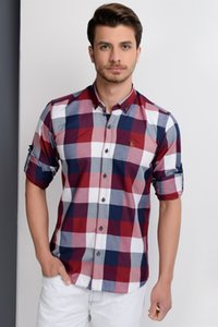 G662 Dewberry SHIRT DARK Рубашки Одежда BLUEBURGUNDY G662 Dewberry рубашка DARK Мужские рубашки Мужская одежда BLUEBURGUNDY