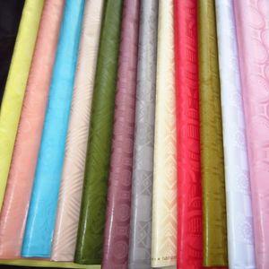 2019 Allemagne Qualité Jacquard damas Bazin Guinée Brocade africaine Riche vêtement Coton Tissu 100% coton similaires à GETZNER 10Yards / pc