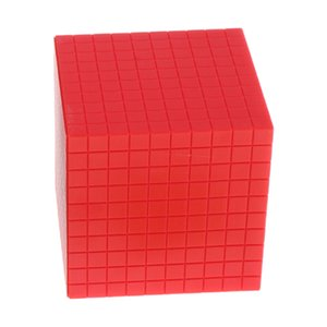 Montessori Decimal Cube Early Learning Educational Toys For Children