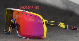 Nouveau cyclisme lunettes mode lunettes de soleil en plein air 9406 Sutro lunettes lentille UV400 polarisée hommes les femmes des lunettes vélo courir lunettes Mtb avec étui