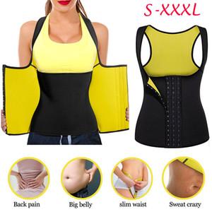 2019 Mujeres Running Vest Lady Waist Training Underbust Corset Bustier Top Shapewear Plus Size S-3XL