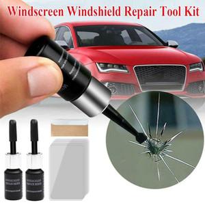 자동차 유리 수리 유체 자동차 창 유리 균열 칩 수리 도구 키트