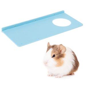 31.5x13.5cm Conseil permanent écologique pour Hamster Parrot Oiseaux Tremplin Pier (couleur aléatoire)