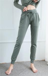 LU Yoga Leggings Marke OEM-Logo Hosen mit Tasche Yogahosen große Qualität Gamaschen de diseño Leggings