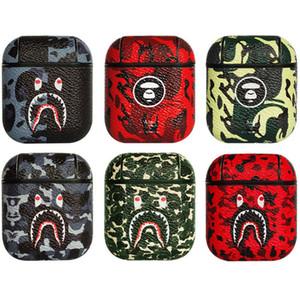 Ein Affe Kopfhörer-Kasten für Airpods1 2 Hard Cases sechs Farben Kopfhörer-Zubehör Schutz-Mode-Weinlese