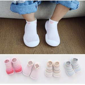 Toddler Girl Foot Socks Baby Boys Socks Shoes Rubber Soles Breathable Comfort Slippers Kids Child's Boots Floor Home Shoes