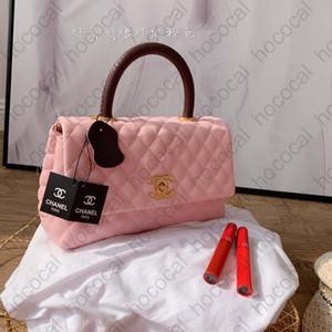 CHANEL DHL Ücretsiz Coco Kol Selzburg Premium Flap Çanta Bay Bayan Moda Lüks Alışveriş Sırt Çantası Hococal Debriyaj Messenger Açık Çanta 25 * 15