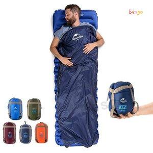190 * 75 centímetros ao ar livre Envelope Sleeping Bags Warming Viagem portátil único saco de dormir Caminhadas Camping Equipment impermeáveis Cobertores DBC BH2845