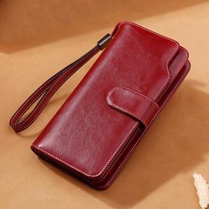 Дизайнер-FGGS-Sendefn новые поступления мода длинные женские кошельки женский Сплит кожаный бумажник женщины дамы кошелек молния телефон сумка 5201-65