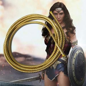 Neuheit-spezieller Gebrauch Wonder Woman Lasso der Wahrheit Prinzessin Diana Cosplay Prop Seil PU Film Zubehör