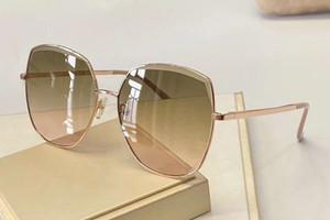 Gafas de sol cuadradas de oro 4682 Gafas de sol mujeres moda gafas de sol Eyewear nuevo con la caja