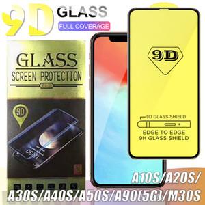 Para iPhone 12 Pro Max XS tela MAX 9D completa curvo vidro temperado Protector Film para Huawei P30 P20 Lite 2019 Nove 4E com pacote de varejo