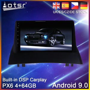 Android 9 PX6 64G Car DVD Player GPS Navigation For Renault Megane 2 2002 2003 2004-2008 Radio Stereo Multimedia HeadUnit