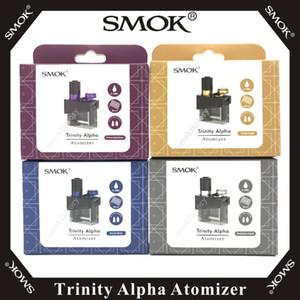 Vape SMOK Trinity Alpha Atomizer 2.8ml قرنة فارغة مع Nord Mesh 0.6ohm Mesh-MTL 0.8ohm استبدال لفائف Trinity Alpha Kit