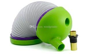 Commercio all'ingrosso creativo flessibile di plastica Shisha erba secca tubi di fumo Strench Caterpillar Shiha portatile Travle Tabacco Da Pipa