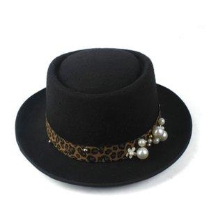 Pork Pie Hat pour les femmes Fedora Hat pour Lady Trilby bibi Taille 58cm