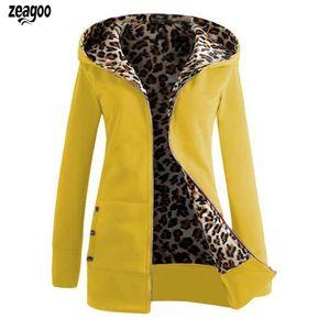 Frauen Sweatshirt Mantel Patchwork Plus Samt Gerade Futter Warme Mittellange Dünne Jacke Casual Herbst und Winter