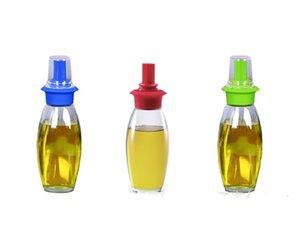 Verde Resistencia a alta temperatura Botella de aceite al aire libre Barbacoa Campamento Cocina Silicona Alta Dureza Anti desgaste Portátil Venta Caliente 6kxI1