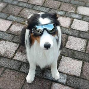 Arrefecer Supplies Wear Pet Dog Goggles moda Uv Sunglasses Doggie Dog Acessórios Elastic Eye Proteção à prova de vento Óculos Pet