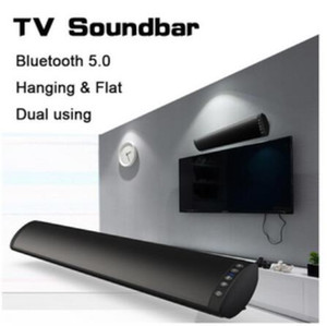 20W Bluetooth 5.0 TV Altoparlante barra audio stereo senza fili Home Theatre Hi-Fi Colonna Surround USB Sound System Parete Sound Bar 5pcs DHL