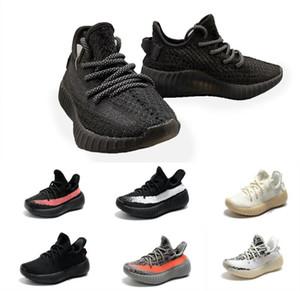 2019 Baby Kids Clay V2 кроссовки Kanye West Blakc Static 3M светоотражающие Zebra Beluga 2.0 Boy Girl спортивные кроссовки tim 26-357b8e#