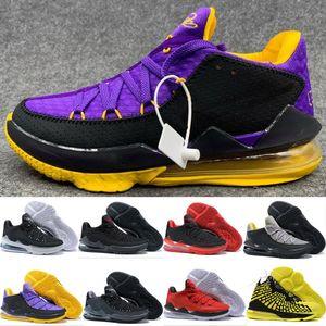 sapatos kanye James Mens Basketball Igualdade Oreo Bred Lebron 17 Battleknit cestas de almofada Designer Sports Sneaker Homens Trainers Tamanho
