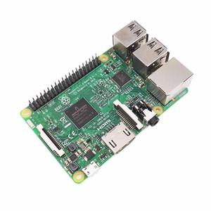 Freeshipping Raspberry Pi 3 Модель B комплект доска с Wi-Fi и Bluetooth + 2pcs Copper теплоотвод + выбрать 1 Case коробки рашпиль PI3 B, Ras PI 3 B