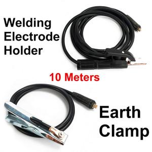 Soldadura del electrodo Holder + Earth Clamp 10 metros para soldador MMA / ARC Equipment 300A