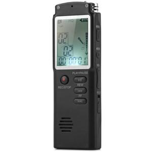 حار 2 في 1 T60 المهنية تسجيل صوتي رقمي 8GB في الوقت الحقيقي العرض صوت / صوت مسجل / الإملاء / MP3 لاعب 6