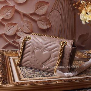 Женщины роскошных сумок Zip мешка формы сердца любви мешок дама цепь дизайнер случайных сумки мода кошелек плечо большой сумка