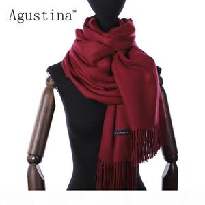 Mulheres cashmere inverno cachecol lenços Shaw lhijab luxo pashmina schal lenços poncho oversize dia marca echarpe dos namorados sjaal