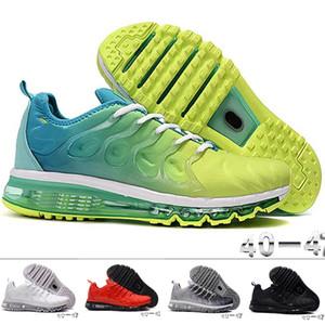 Ücretsiz nakliye PLUS + Trainer hava yastığı desingers spor ayakkabı boyutu EUR40-47 spor ayakkabı nefes koşu ayakkabıları örgü TN 2020 Yeni varış erkek