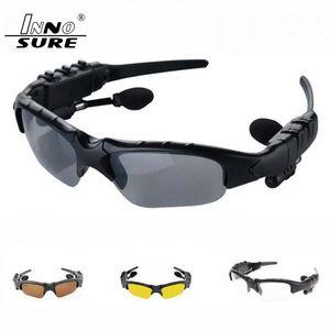 Polarisierte Sonnenbrille Bluetooth Kopfhörer Sunglass Stereo drahtlose Sport-Kopfhörer-freihändige Kopfhörer mp3-Musik-Player mit Kleinpaket