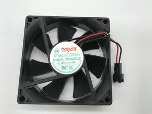 Nueva TD8020LS DC12V 0.08A 80 * 20MM de silencio 8cm ventilador de la fuente refrigerador potable