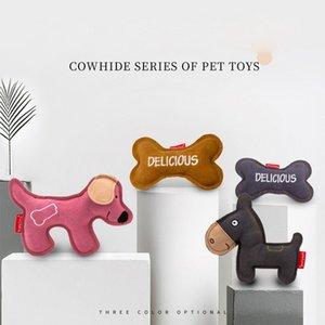 Собака игрушка Pet Молярной Bone Игрушка Ковбой Vocal Укус-Resistant Puppy Large Dog Укус-Resistant Молярных зоотовары товаров для животных Малых