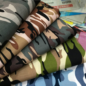 Mode Army Green Camo Camouflage Imprimer Coton Matériel Tissus Popeline