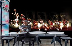 fondo de pantalla 3d en la costumbre foto de la pared mural de baloncesto estrella clavada pared del fondo de la decoración del hogar viven fondos de escritorio de habitaciones para las paredes 3 d