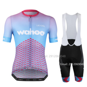 2020 LE COL Jersey Ciclismo verão roupas unissex bicicleta Mallot bib terno short de corrida ciclismo Wahoo interior Training Jersey