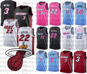 New Mens College Basketball Jersey Jimmy 22 Butler Dwyane 3 Wade 14 Herro