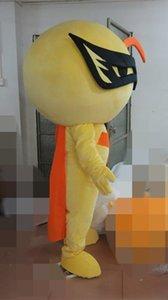 Костюмы маскот полюсная звезда мужские и женские пары желтые куклы костюмы талисмана горячие продажи кукольные костюмы