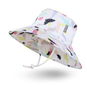 Amili enfant en bas âge Chapeau de soleil seau de protection solaire réglable Crème solaire Chapeau toutes saisons Chapeau pour bébé garçon bébé Kid FPU 50 Livraison gratuite