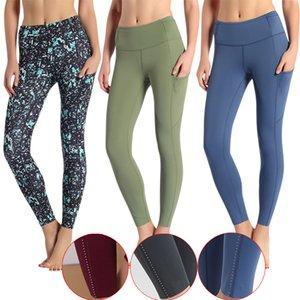 LU-01 Tozluklar Kadınlar Yogaworld lu Pantolon Bel Spor Salonu Giyim Elastik Spor Lady Genel Tayt Egzersiz Kalça Kaldırma Spandex Yüksek Kalite