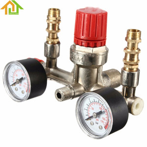 Бесплатная доставка регулируемый 175PSI компрессор воздуха давления регулятор воздуха и пресс-указатели