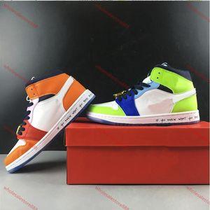 2020 xshfbcl высокого качества Мелодия Ehsani х Mid WMNS Бесстрашного Баскетбол обувь progettista Мода несколько цветов Мужчина женщин Спорт тапок