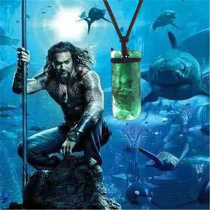 DC Film périphérie Aquaman Arthur résine collier Justice League Maori Pendentif Hommes Toki Collier Arthur Curry Aquaman Cosplay Costume