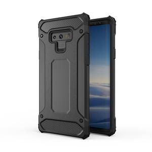 Para iphone Xs Max Xr X Samsung S9 S9 + Nota 9 nota8 J5 J7 WHybrid Armor Clip Kickstand A prueba de golpes Estuches para teléfonos celulares duros
