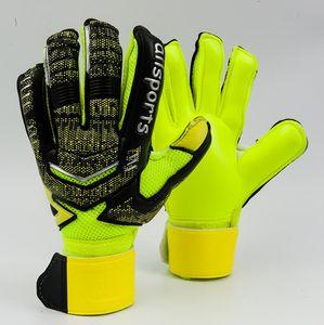 Professional Thicken Breathable Non-slip latex Football Goalkeeper Gloves Goalie Soccer finger bone protection guard gloves