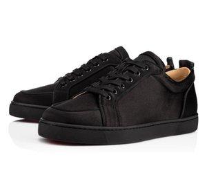 2019 무료 배송 브랜드 레드 유일한 Rantulow 남성 여성 패션 신발 레드 바닥 스니커즈 Rantulow Orlato 남성 플랫 신발 야외 새로운 항목 A02