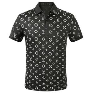 2020 polo para hombre de verano de manga corta polo camisetas bordadas cuello redondo Casual Tops